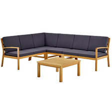 6 Seater Liam Wooden Outdoor Modular Lounge Set