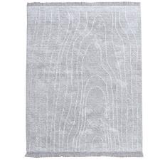 Silver Ocean Eden Cotton Rug