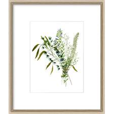 Green Bouquet I Framed Print