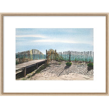 Seagate Framed Print