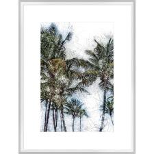Dorado Palms II Framed Print