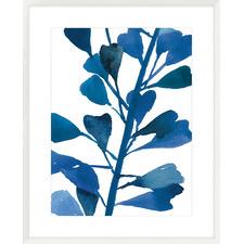 Sapphire Stems VI Framed  Printed Wall Art