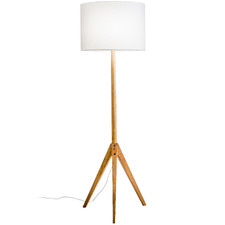 Natural Arena Tripod Floor Lamp