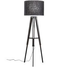 Benson Wooden Tripod Floor Lamp