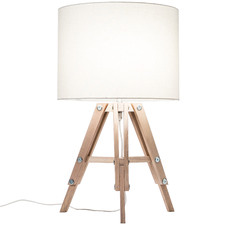 Benson Wooden Tripod Table Lamp