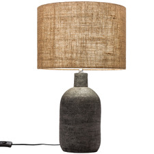 57cm Black Maya Ceramic Table Lamp