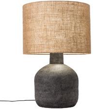 Black Sabi Terracotta Table Lamp
