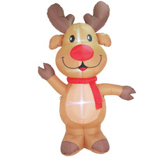 240cm LED Inflatable Reindeer