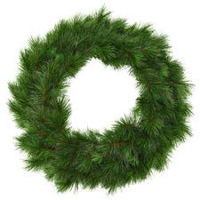 76cm Classic Pine Premium Wreath