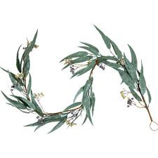 130cm Glitter Eucalyptus Gumnut Garland