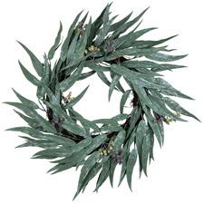55cm Glitter Eucalyptus Gumnut Wreath