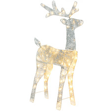Glitter Thread LED Reindeer Light