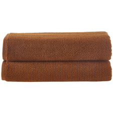 Cinnamon Willow 600GSM Turkish Cotton Bath Sheets (Set of 2)