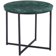 Siena Round Marble Side Table