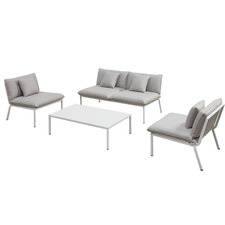 4 Seater Flinders Aluminium Outdoor Sofa Set