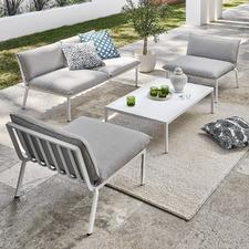 4 Seater Flinders Aluminium Outdoor Sofa Set