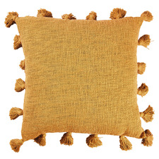 Mustard Raffa Square Cotton Cushion
