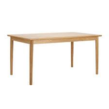 Oak Veneer Parquet Dining Table