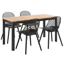 4 Seater Aura Teak Outdoor Dining Set