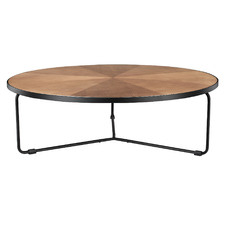 Elijah Low Round Coffee Table