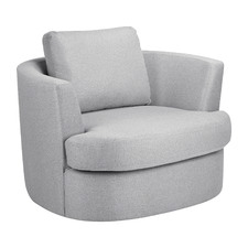 Killian Oversized Swivel Armchair
