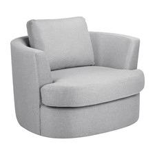 Killian Upholstered Swivel Armchair