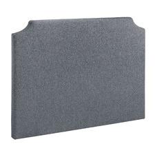 Light Grey Wren Upholstered Queen Bedhead