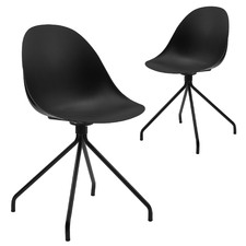 Capstone Fixed Base Chairs (Set of 2)