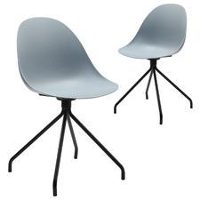 Capstone Fixed Base Chairs (Set of 2)