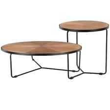 2 Piece Elijah Coffee & Side Table Set
