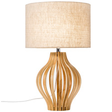 Bentwood Pine Table Lamp