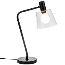 Black Chicago Table Lamp