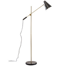 Black Bond Floor Lamp