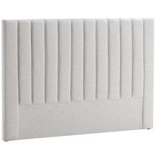 Oat White Charlotte Upholstered Bedhead