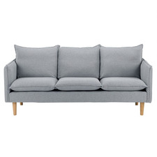 Moonlight Grey Hampstead 3 Seater Sofa