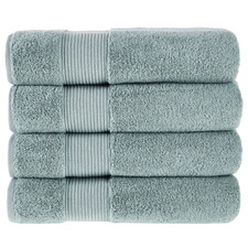 Seafoam Grand 800GSM Turkish Cotton Bath Towels (Set of 4)
