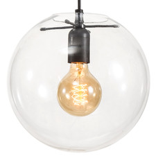 Cosmo Glass & Steel Pendant Light