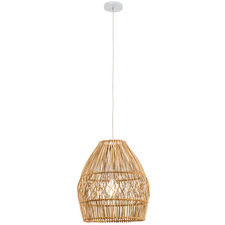 Archer Rattan Pendant Light