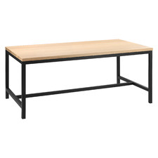 Natural T-Bar Dining Table