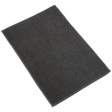 Charcoal Marlow Textured Turkish Cotton Bath Mat
