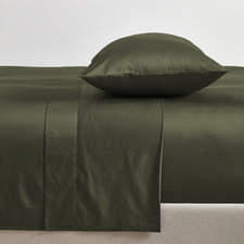 Olive Bamboo & Cotton Sheet Set