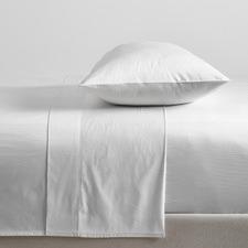 White Bamboo & Cotton Sheet Set