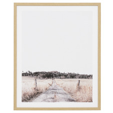 Australian Path Framed Printed Wall Art