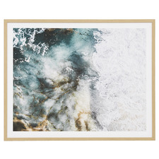 Turquoise Waters Framed Printed Wall Art