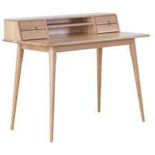 Oscar Scandinavian Style Oak Desk