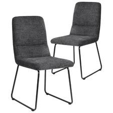 Grey Mezzo Dining Chairs (Set of 2)
