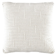 Grey Acre Knitted Cotton Cushion