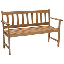 2 Seater Lanai Wooden Outdoor Garden Bench
