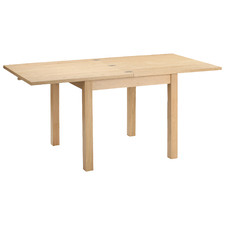 Natural Wooden Extendable Dining Table