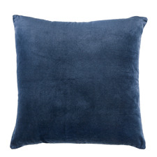 Navy Minnie Velvet Cushion